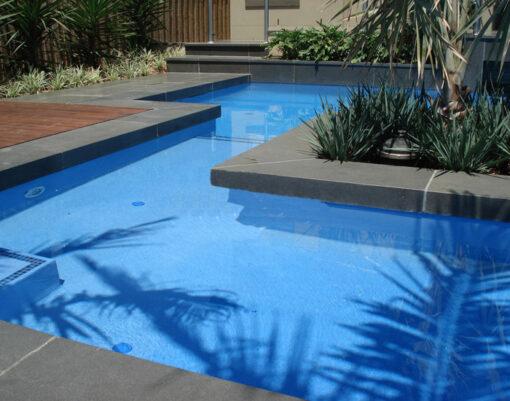 Bluestone Pool Coping Drop Face Tile 18